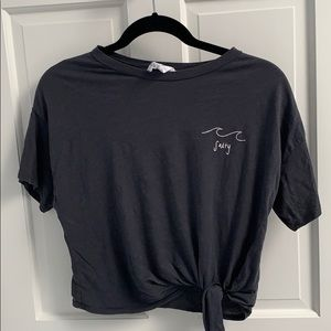 Knotted T-shirt